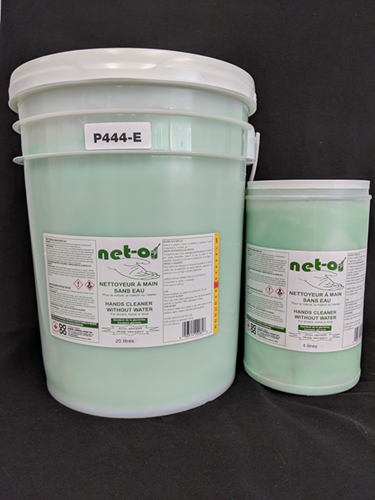 Picture of Net-o, waterless hands cleaner with abrasives