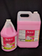 Picutre of Solo, pink dishwashing liquid