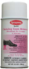 Picture of SW813W, chewing gum remover