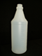 Photo de Bouteille 32 oz conique naturelle