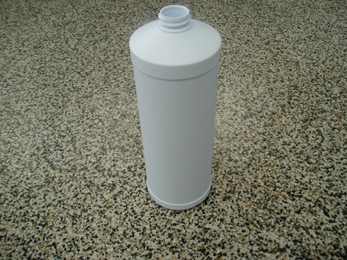 Picture of Bottle 1 l cylindrical white
