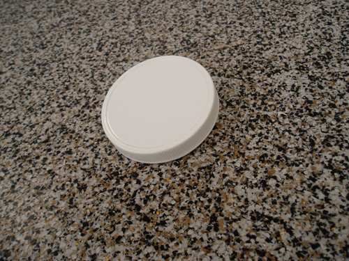 Picture of White screw-on cap