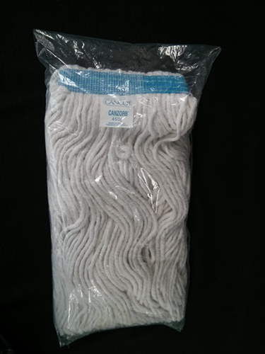 Picture of Wet mop head 450 g (16 oz) blue border