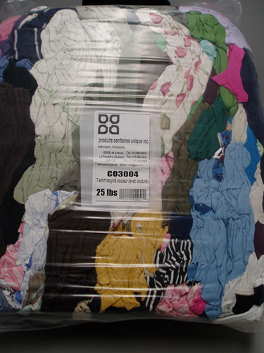 Picture of Co3004, Colored recycled cloth ( with seam)