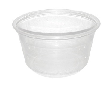 Picture of Container plastic round Deli clear 12 oz