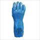 Picutre of Blue glove all PVC and NBR, triple thickness