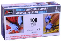 Picture of Gloves nitril blue 4 mil Wear-it