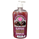 Picture of CF, black cherry foaming gel body and hands