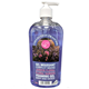 Picture of CF, floral garden foaming gel body and hands
