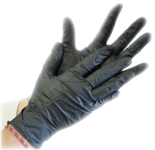 Photo de Gant nitrile noir