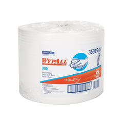 Picture of 35015, Wypall wiper X50 white 9.8 x13.4'' roll