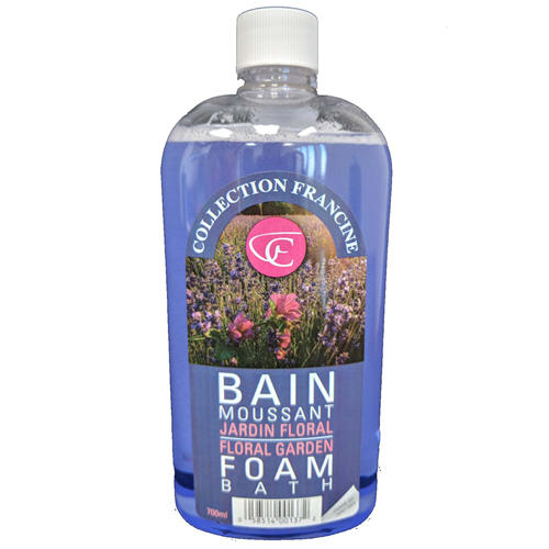 Photo de Bain moussant jardin floral