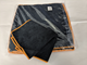 Picutre of Black microfiber cloth 14x14po