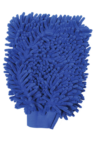 Picture of Microfibre chenille washing mitt 8x10