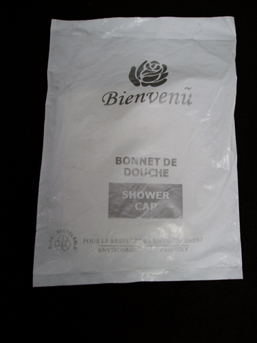 Photo de Bonnet de douche pour motel