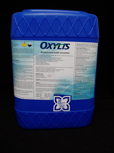 Picture of Oxylis, concentrated acid sanitizer