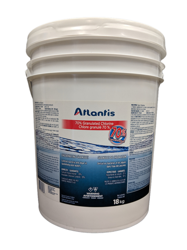 Picture of Pool, 70% granulated chlorine