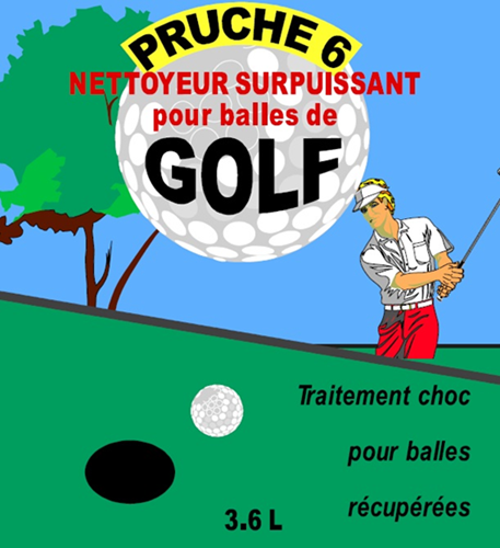 Picture of Pruche 6, cleaner for recovered golf balls