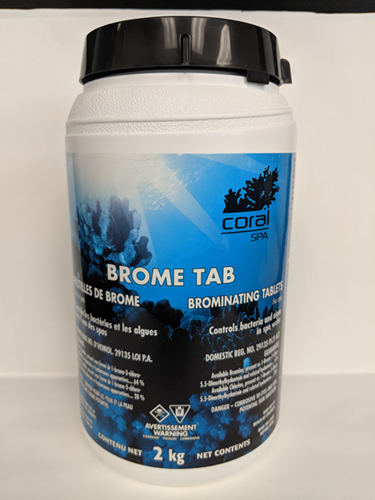 Picture of Spa, bromine tablet BROMO-TAB