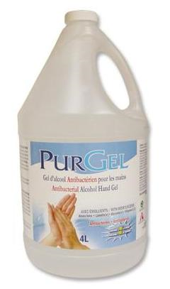 Picture of Purgel, cleaner for hands 70% alcohol