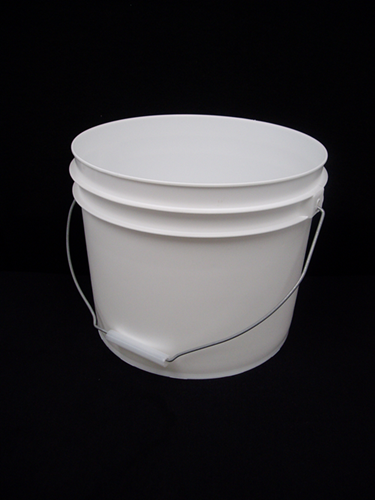 Picture of Plastic bucket white 11.5 lt