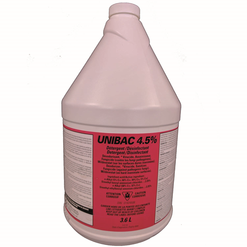 Picture of Unibac 4,5%, disinfectant cleaner
