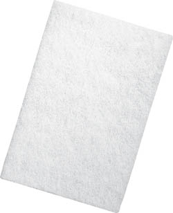 Picture of 3M98-N, Scouring pad white