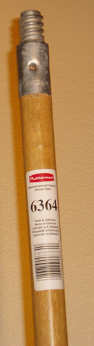 Picture of Wood handle 60'' (metal end piece)